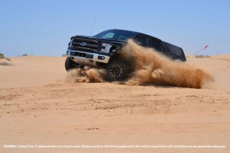 2017 Ford F-150 Raptor Performs Desert Durability Testing on Everyman Driver