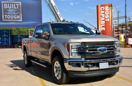 2017 Ford Super Duty Frame Test on Everyman Driver