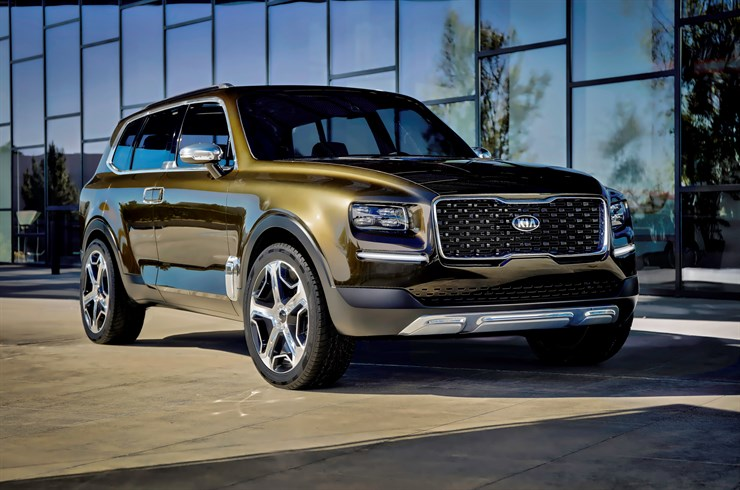 Kia Telluride Concept on Everyman Driver