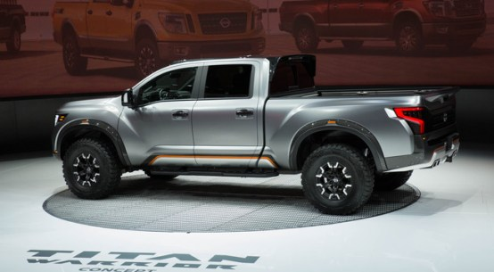 Nissan TITAN Warrior Concept on Everyman Driver