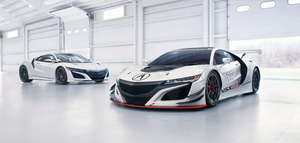 Acura Unveils NSX GT3 Racecar in New York on Everyman Driver