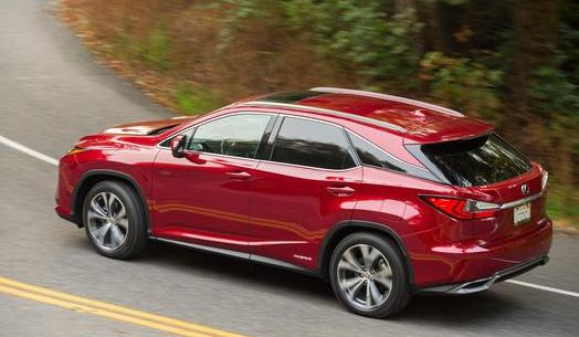 2016 Lexus RX Hybrid Named Green Vehicle of Texas on Everyman Driver