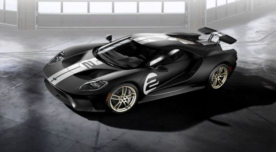 Ford GT Supercar Wind Tunnel Testing on Everyman Driver