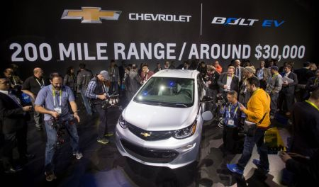 2017 Chevrolet Bolt EV on Everyman Driver, Dave Erickson