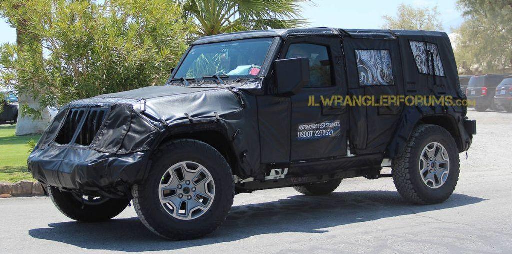 2018 Jeep Wrangler JL on Everyman Driver, Dave Erickson