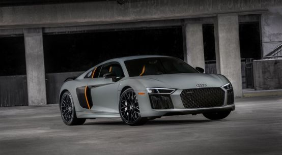 Everyman Driver: Audi debuts first US laser light on the 2017 R8 V10 plus exclusive