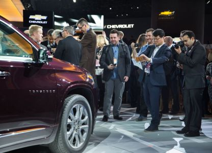 2018 chevy traverse on everyman driver with Dave Erickson