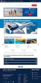 AeroMexico airTRFX page