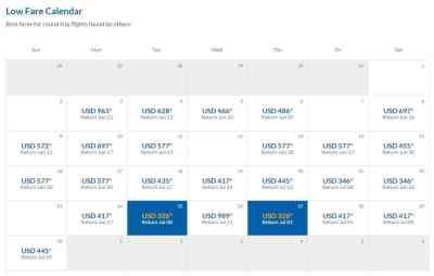 Calendar airModule