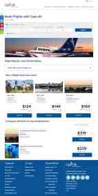 Cape Air airTRFX page