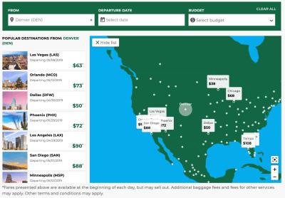 Interactive Map airModule