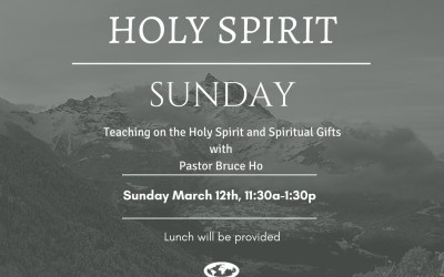 HOLY SPIRIT SUNDAY