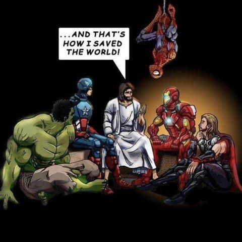 Jesus.. the original avenger