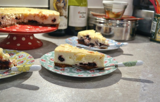 Bakewell Cherry Cheesecake