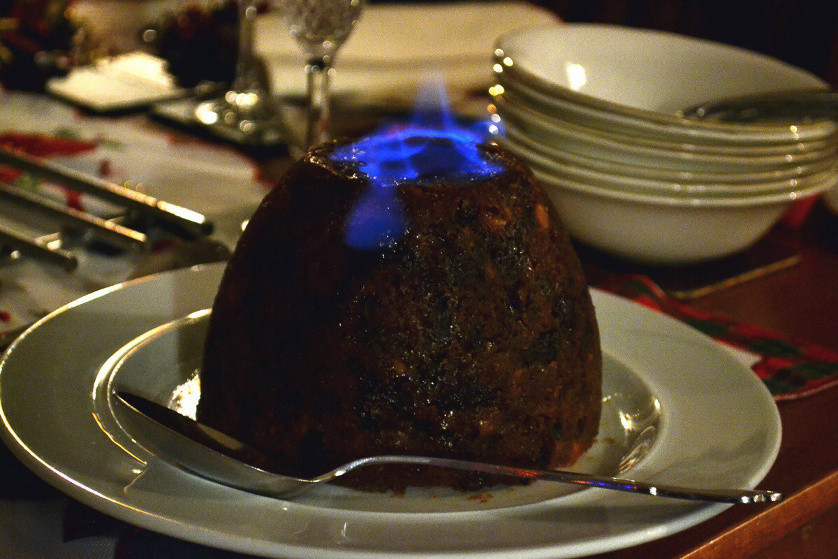 Slow Cooker Christmas Pudding
