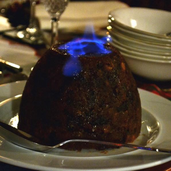 Slow Cooker Christmas Pudding
