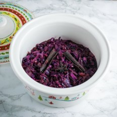 Orange & Spice Braised Red Cabbage
