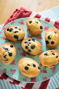 Blueberry Friands