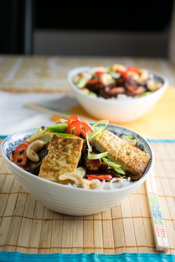 Peanut Noodle Tofu Fry-2