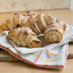 Easy Almond Croissant made with puff pastry