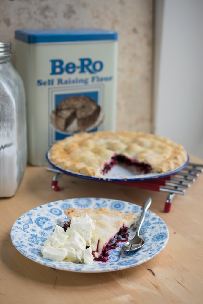 Blackcurrant Plate Pie-9