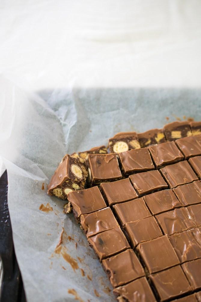 Leftover Chocolate Slice-4
