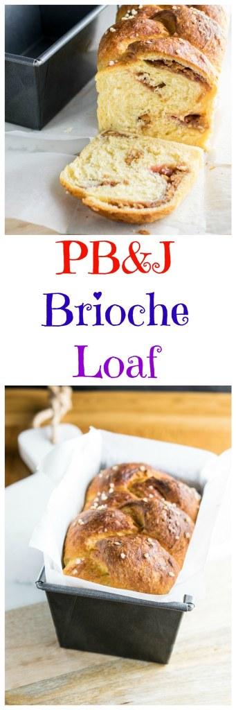 PB&J brioche loaf