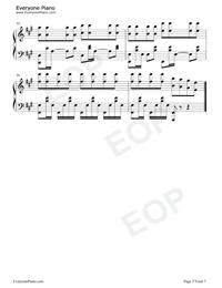 Kimbo Astronomia Coffin Dance Meme Song Sheet Music Piano