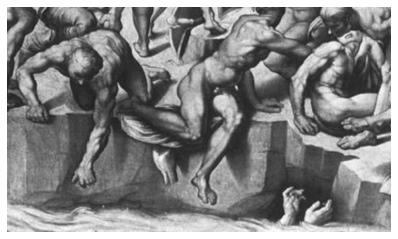 from Michelangelo s Battle Michelangelo Battle Of Cascina