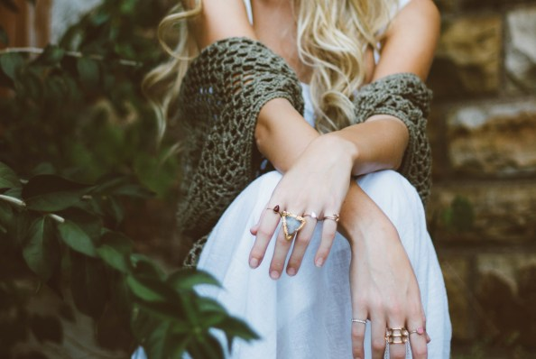 Statement rings are a must!