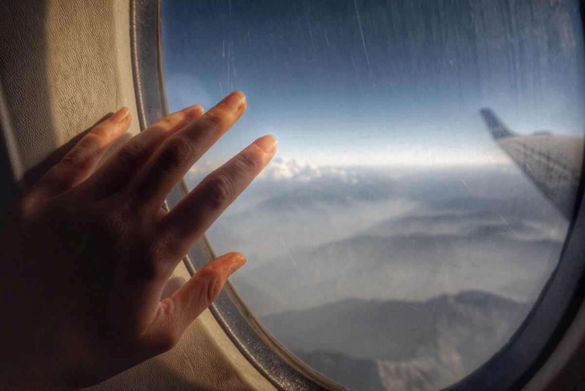 Everest Flight in Nepal - View from the window