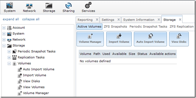 Configuring FreeNAS 8.3 – iSCSI and NFS Storage for VMware vSphere (2/6)