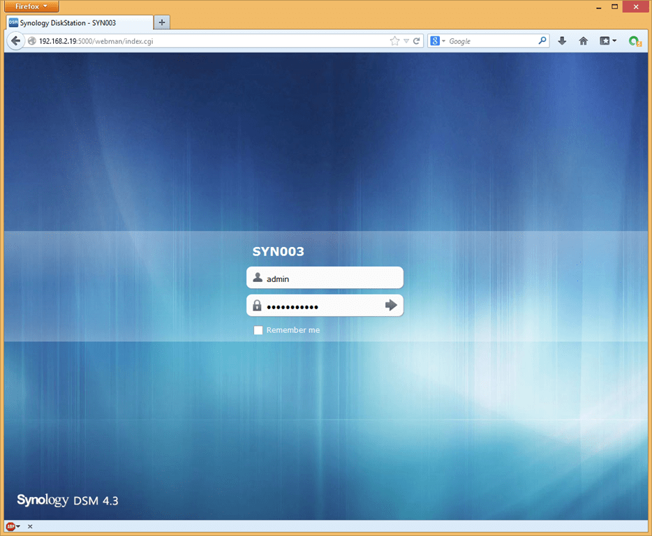 Installing the Home Lab – Configuring Synology iSCSI Storage