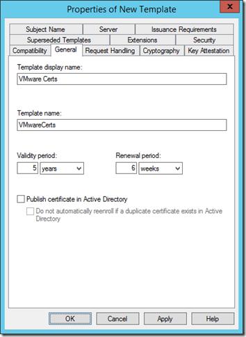 Creating the vmware ssl cert template everything virtual 22 11 2013 16 10 02thumb1 yadclub Choice Image
