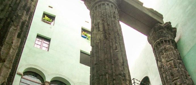 Roman ruins ins Barcelona (Photo: Mackenzie Patel)