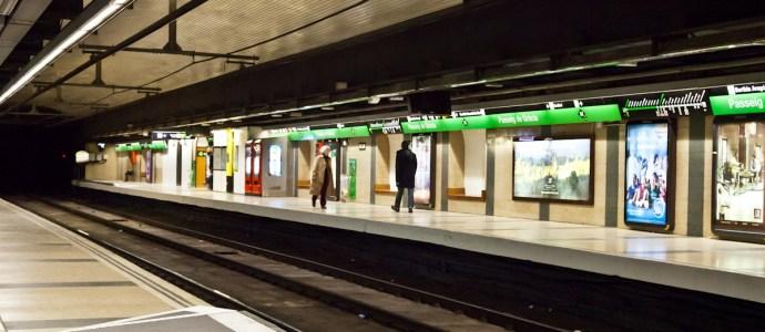 Metro Barcelona, Passeig de Grácia