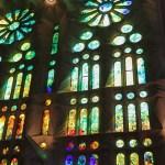 Innenarchitektur der Sagrada Familia (Foto: Adeline Dessinet)