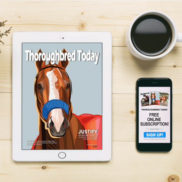 Thoroughbred Today magazine online subscription
