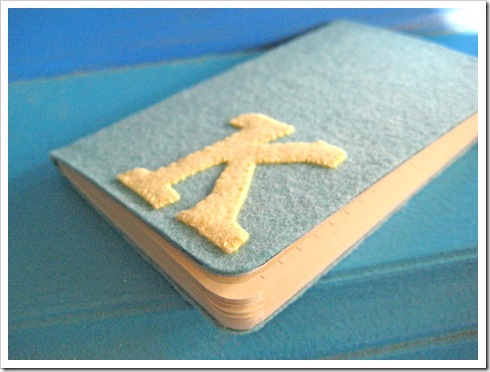 felt notebook tutorial 4