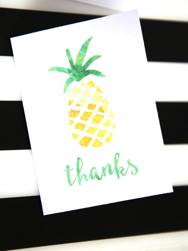 25 Pineapple Crafts Amp Free Printables DIY Goodness