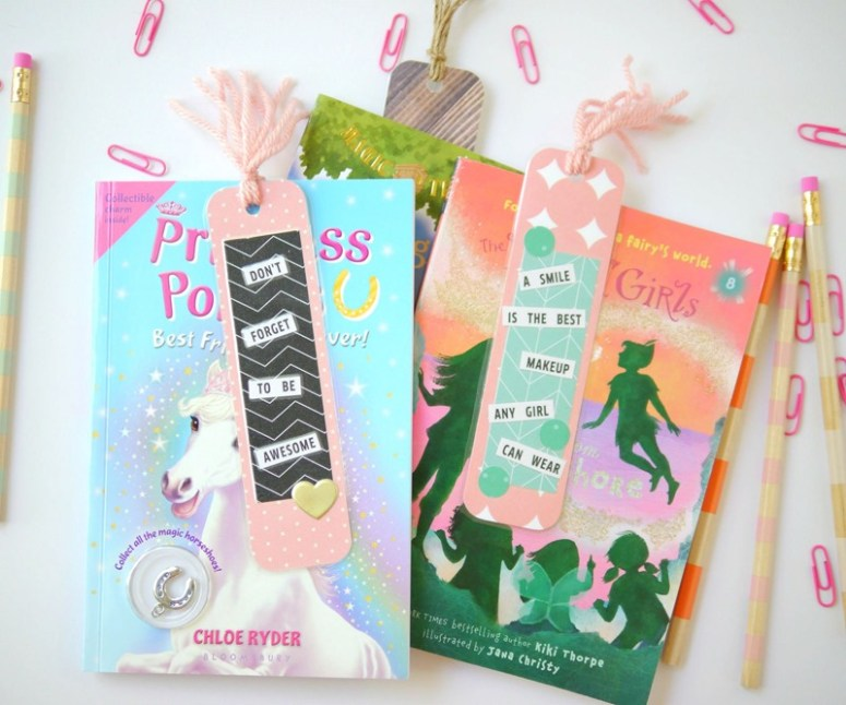 Back to school bookmarks - jen hadfield home made