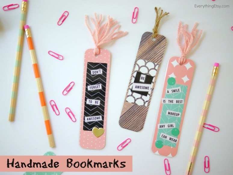 Handmade Bookmarks - EverythingEtsy.com