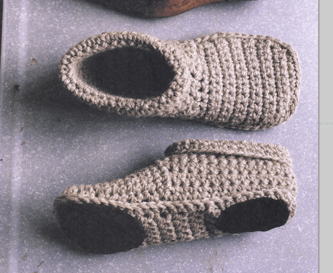 Free Slipper Patterns Knit Beginner