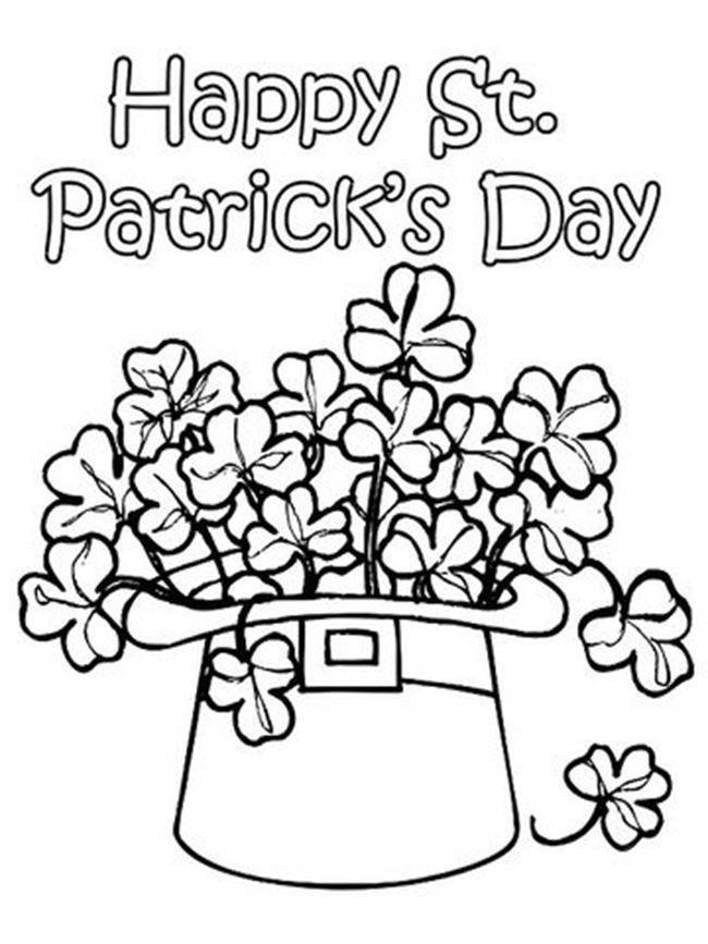 12 st patrick 39 s day printable coloring pages for adults amp kids