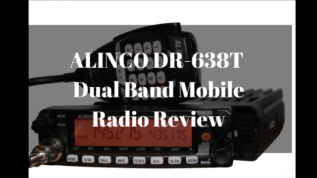 Alinco DR-638T Dual Band Mobile Radio Review - Everything