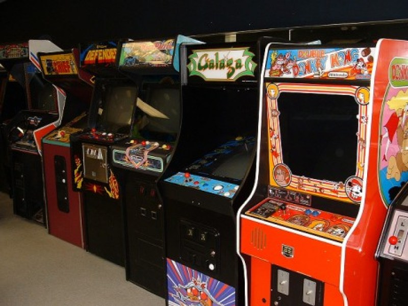 Classic Arcade Box Australian designed and made
