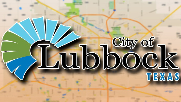 City of Lubbock Logo on Map - 720