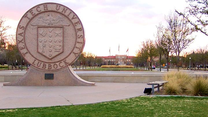 Texas Tech University Campus Evening TTU 720