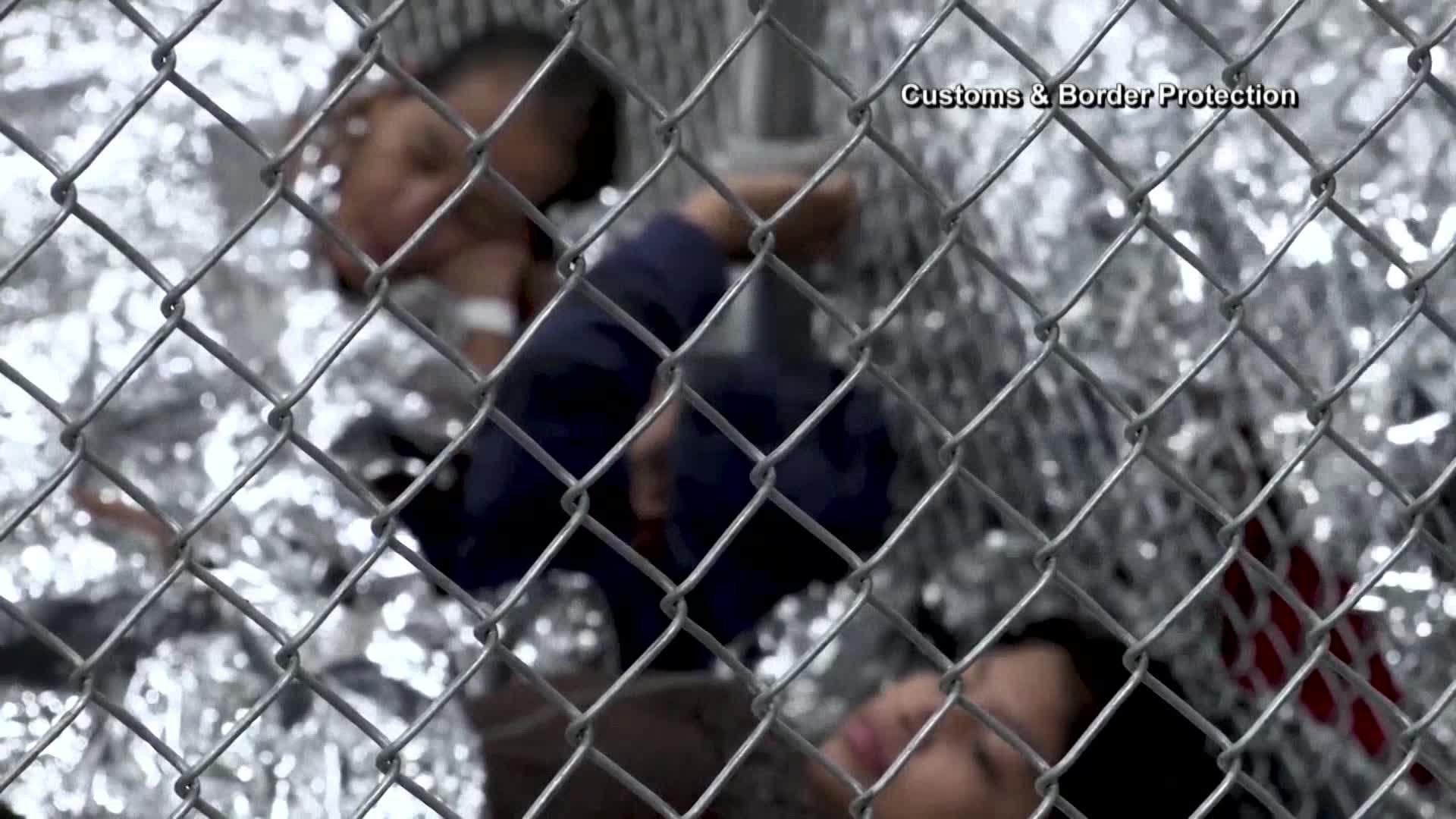 Migrant children at the border