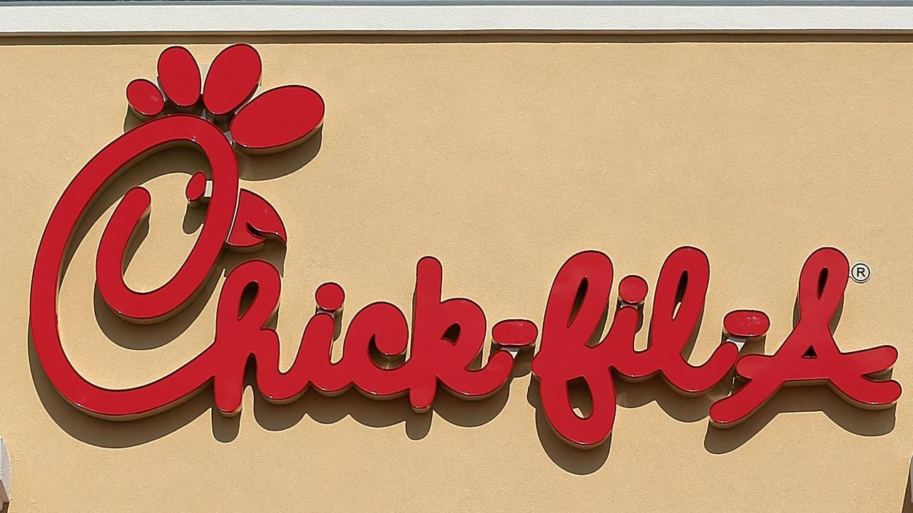 Chick-fil-A restaurant sign WFLA